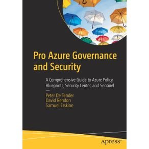 Pro-Azure-Governance-and-Security