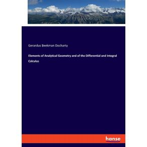 Elements-of-Analytical-Geometry-and-of-the-Differential-and-Integral-Calculus