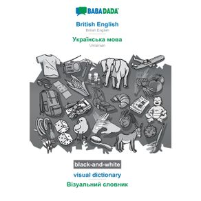 BABADADA-black-and-white-British-English---Ukrainian--in-cyrillic-script--visual-dictionary---visual-dictionary--in-cyrillic-script-