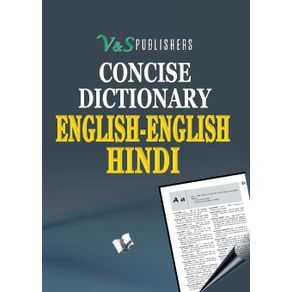 Concise-English---English---Hindi-Dictionary--Pocket-Size-