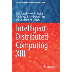 Intelligent-Distributed-Computing-XIII