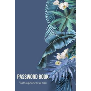 Password-book-with-Alphabetical-tabs