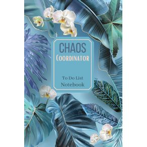 Chaos-Coordinator-To-Do-List-Notebook|Special-Design-daily-planner|Checklist-Notebook|--Daily-planner-and-notebook-combined