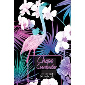 Chaos-Coordinator-To-Do-List-Notebook|Awesome-Planner-with-exotical-theme|-Checklist-Notebook|-Organization-Notebook