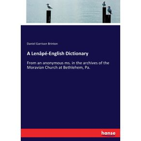 A-Lenape-English-Dictionary