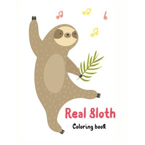 Real-Sloth-Coloring-Book|40-Cute-Unique-Creative-Cute-Designs|-Sloth-Lover-Coloring-Book-For-Adults|-Animals-with-Patterns-Coloring-Books|