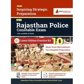 Rajasthan-Police-Constable-Exam-2021- -10-Full-length-Mock-Tests--New-Pattern-