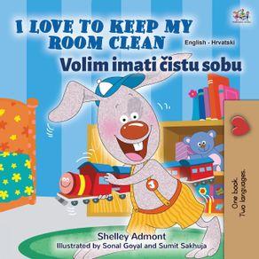 I-Love-to-Keep-My-Room-Clean--English-Croatian-Bilingual-Childrens-Book-
