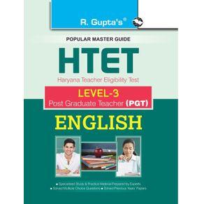 HTET--PGT--Post-Graduate-Teacher--Level3--English-Exam-Guide