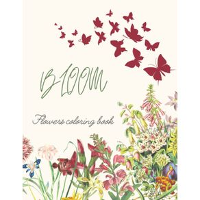 Bloom-Flowers-Coloring-Book