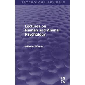 Lectures-on-Human-and-Animal-Psychology