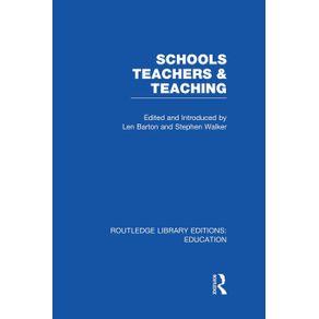 Schools-Teachers-and-Teaching--RLE-Edu-N-