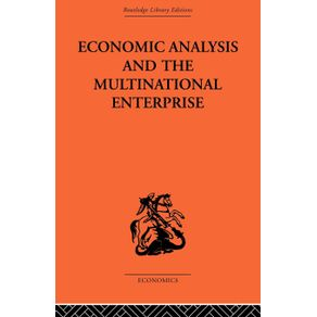 Economic-Analysis-and-Multinational-Enterprise