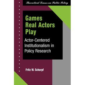 Games-Real-Actors-Play