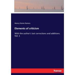 Elements-of-criticism