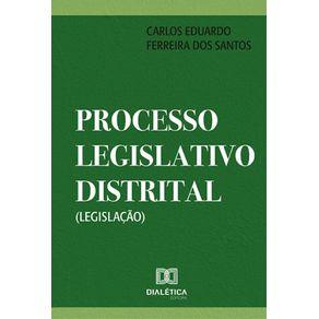 Processo-Legislativo-Distrital--Legislacao-
