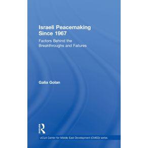 Israeli-Peacemaking-Since-1967