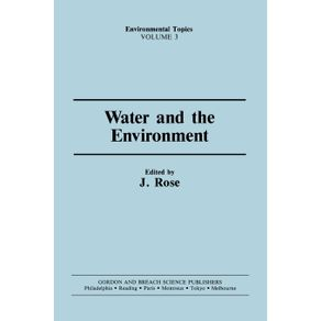 Water---the-Environment