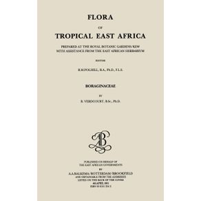 Flora-of-Tropical-East-Africa---Boraginaceae--1991-