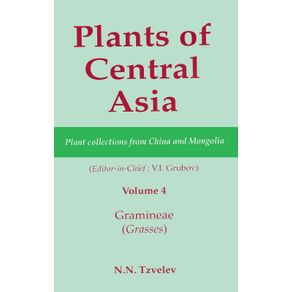 Plants-of-Central-Asia---Plant-Collection-from-China-and-Mongolia-Vol.-4