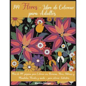 144-Flores---Libro-de-Colorear-para-Adultos
