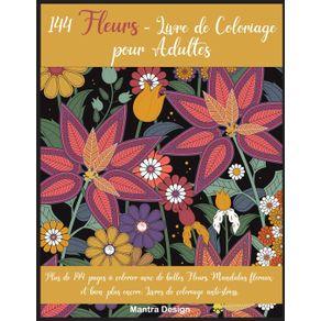 144-Fleurs---Livre-de-Coloriage-pour-Adultes