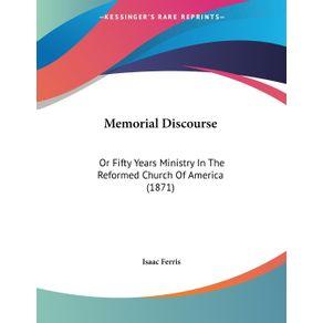 Memorial-Discourse