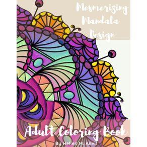 Adult-Coloring-Book---Mesmerizing-Mandala-Design