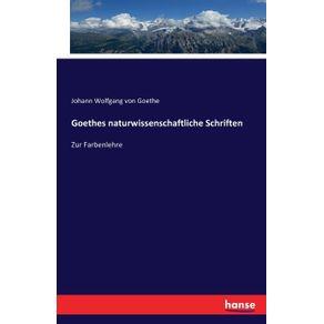 Goethes-naturwissenschaftliche-Schriften
