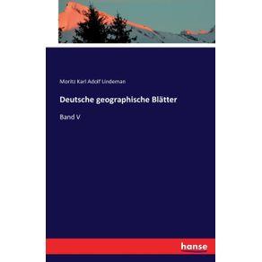 Deutsche-geographische-Blatter