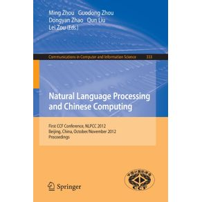 Natural-Language-Processing-and-Chinese-Computing