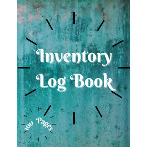Inventory-Log-Book