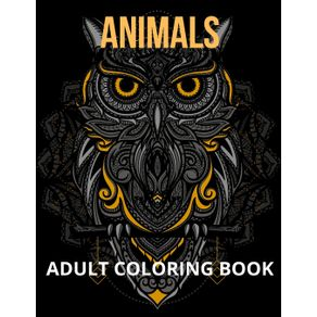Animals-Adult-Coloring-Book