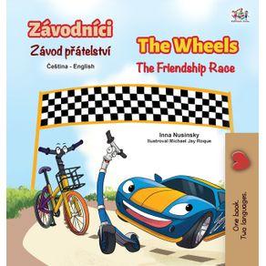 The-Wheels-The-Friendship-Race--Czech-English-Bilingual-Childrens-Book-
