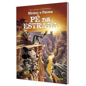 Mickey-e-Pateta--Pe-na-Estrada