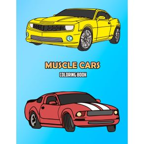 Muscle-Cars-Coloring-Book