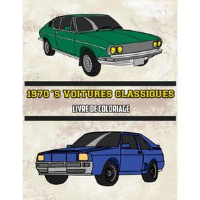 1970s-Voitures-Classiques-Livre-de-Coloriage