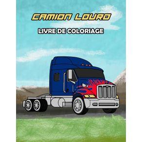 Camion-Lourd-Livre-de-Coloriage