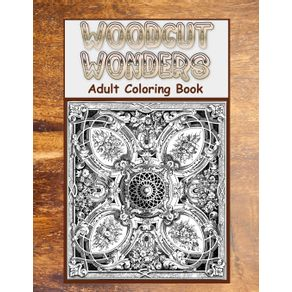 Woodcut-Wonders-Adult-Coloring-Book