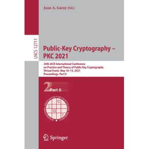 Public-Key-Cryptography---PKC-2021