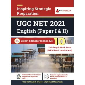 UGC-NET-English-2021- -10-Full-length-Mock-Test--Paper-I---II-- -With-Latest-Exam-Pattern