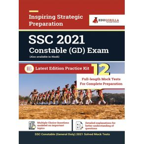 SSC-Constable-GD-Exam-2021-|-12-Mock-Test-For-Complete-Preparation