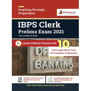 IBPS-Clerk-Prelims-2021-|-10-Mock-Test-For-Complete-Preparation