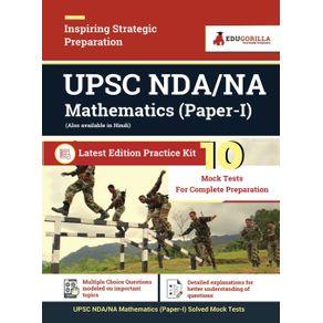 UPSC-NDA-NA-Mathematics--Paper-I--2021-|-10-Mock-Tests-For-Complete-Preparation