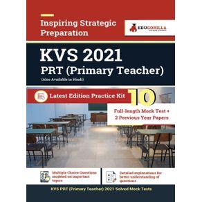 KVS-PRT--Primary-Teacher--2021-|-10-Full-length-Mock-Test---2-Previous-year-Papers