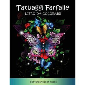 Tatuaggi-Farfalle-Libro-da-Colorare