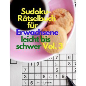 Sudoku-Ratselbuch-fur-Erwachsene-leicht-bis-schwer-Vol.-3