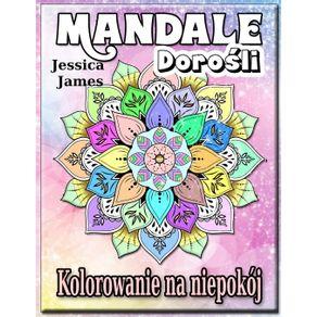 Mandale-Dorosli-Kolorowanie-na-Niepokoj
