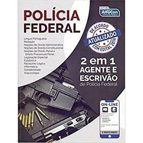 Policia-Federal---2-em-1---Agente-de-Policia-e-Escrivao---edital-2018