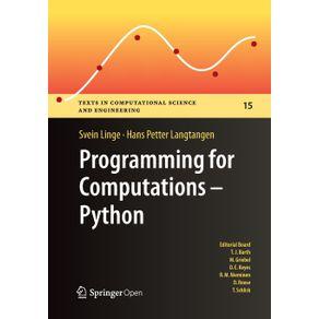 Programming-for-Computations---Python